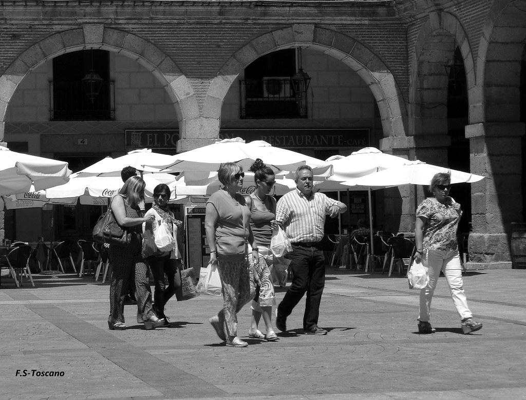 Un día en Ávila. One day in Ávila.