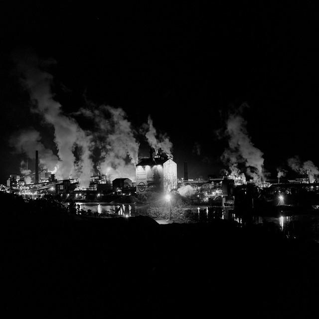 Clairton Works, Night