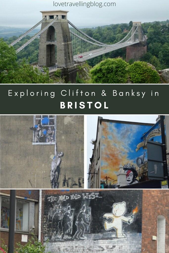 Exploring Clifton & Banksy in Bristol