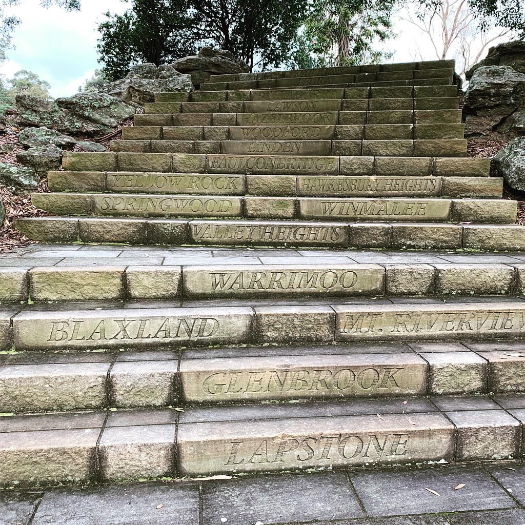 Glenbrook steps