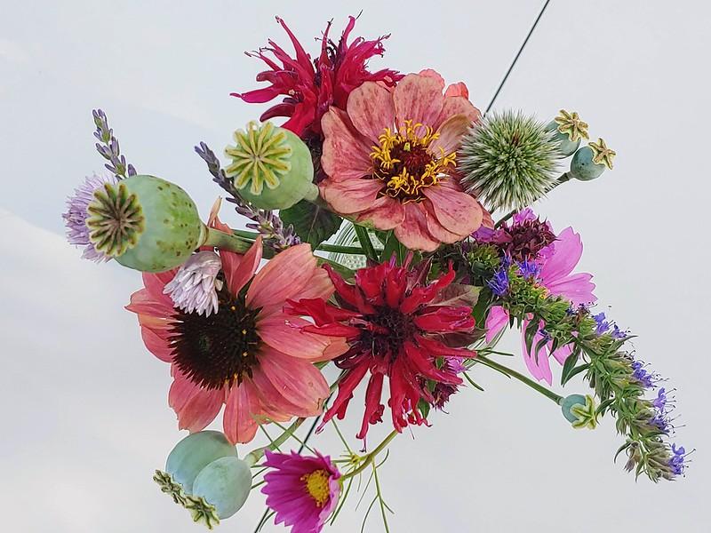 Homegrown Flower Bouquet