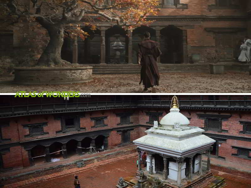 Kamar-Taj courtyard