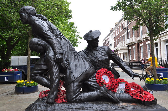 Captain Noel Chavasse VC & Bar MC RAMC, Abercromby Square, Liverpool