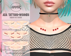 Unnie - Ada Tattoos + Wounds