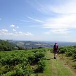 Descending towards Abergavenny