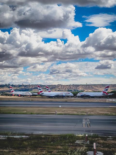 British Airways A380s