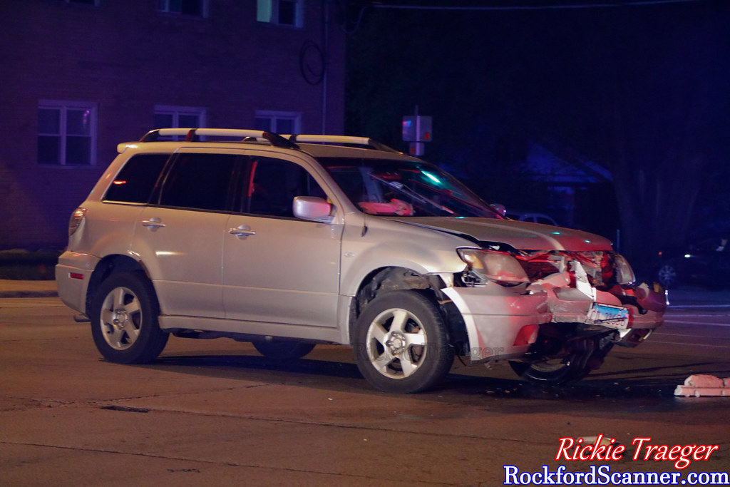 Vehicle involved in the accident at School st and Central ave in Rockford, Illinois on July 19th 2021.