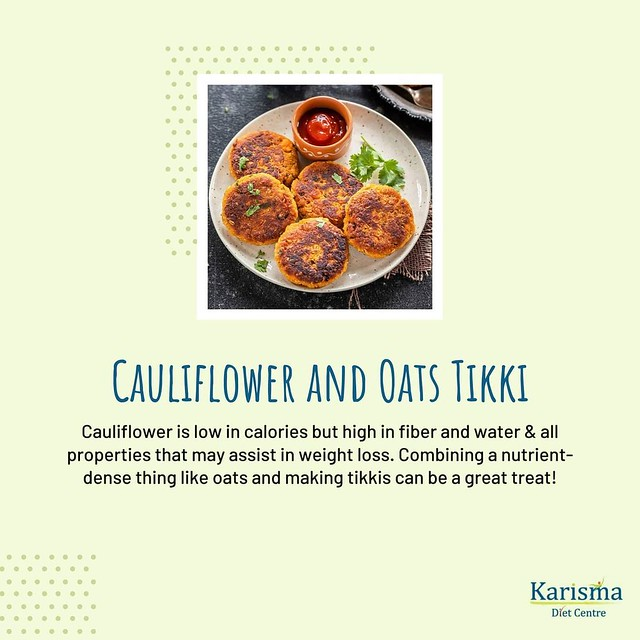 cauliflower-and-oats-tikki