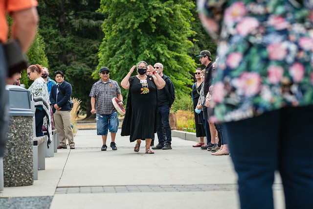 CEP Shakespeare Reconciliation Garden unveiling ~ July 16 2021
