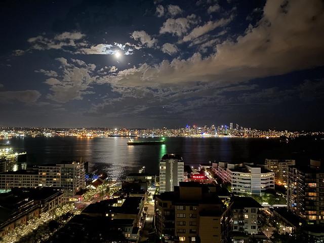 Moonlit Port of Vancouver (+1)
