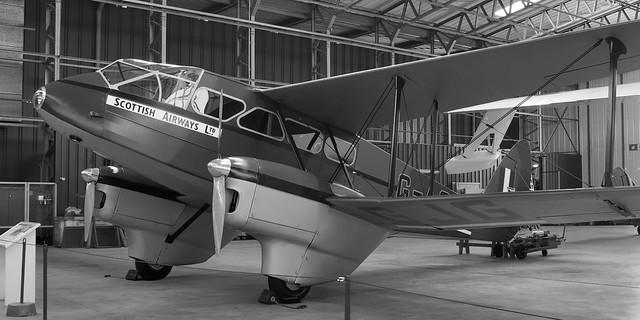 De Havilland DH.89A Dominie, RAF X7344, 1941 - Imperial War Museum, Duxford, England.