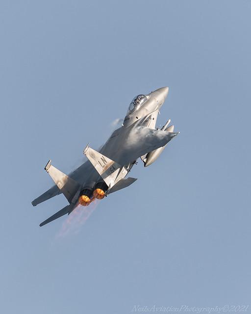 F-15C 86-0154 Reaper Climbout
