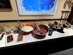 Výroba čokolády Lindt