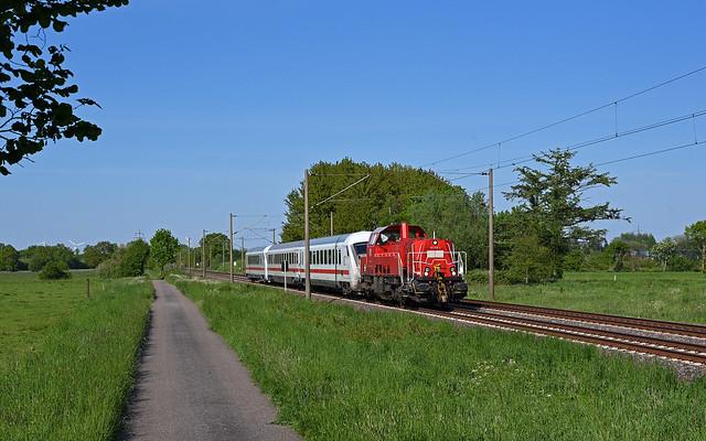 DB Cargo 261 038-4 - Borstel (Kreis Segeberg)