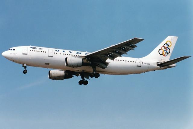 Olympic Airways   Airbus A300B4   SX-BEE   London Heathrow
