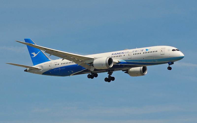 Boeing-787-9-Dreamliner-Xiamen-Airlines-B-1357