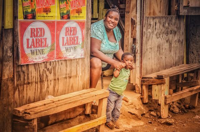 Drinks shack, rural Jamaica