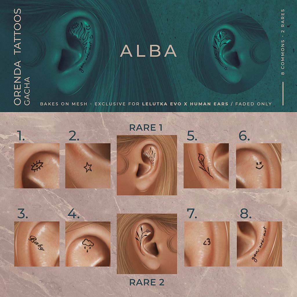 ALBA – Orenda Tattoos Gacha @ Harajuku