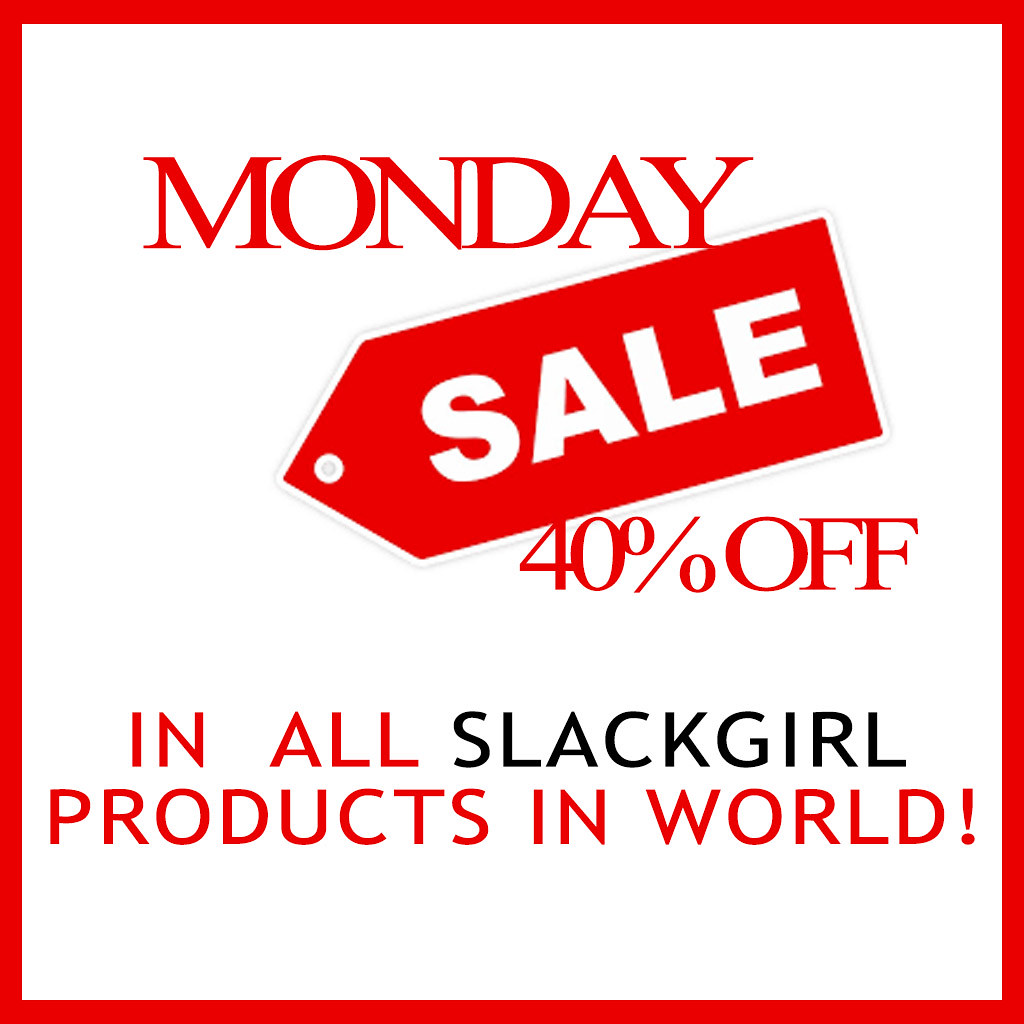 MONDAY SALE ON SG 40% OFF