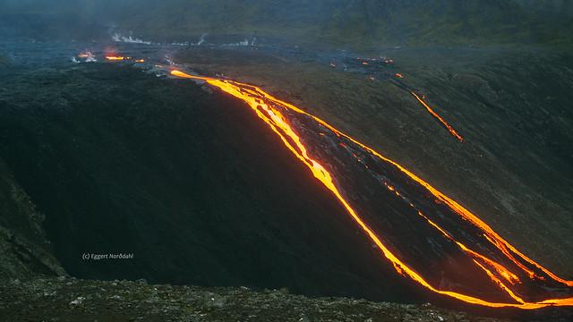 Reykjanes Eruption Lavafalls (9568