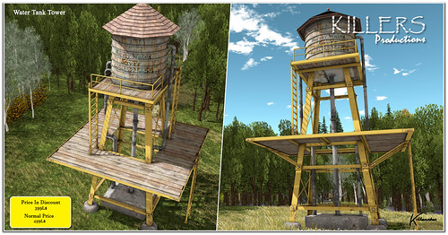 """""""Killer's"""" Water Tank Tower On Discount @ Tres Chic Event Starts from 17th July"""