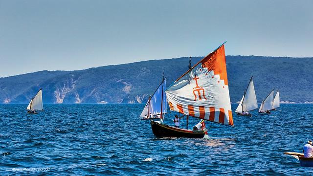 Venecijanska barka - na regati tradicijskih drvenih barki na jedra