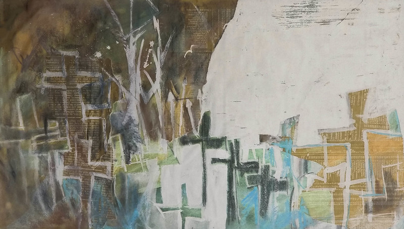 Gravestones_mixed_media_by_Gillian_Gillian_Hebblewhite_adjusted
