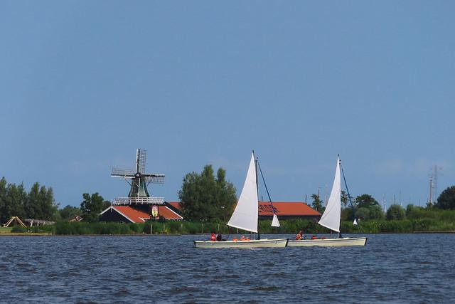 Sailing..... home