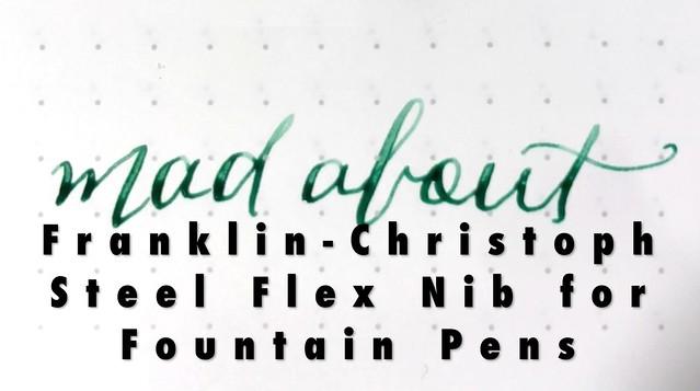 Franklin-Christoph $35 Steel Extra-Fine Flex Nib for Fountain Pens