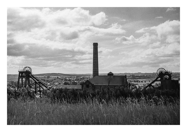 Backlit colliery