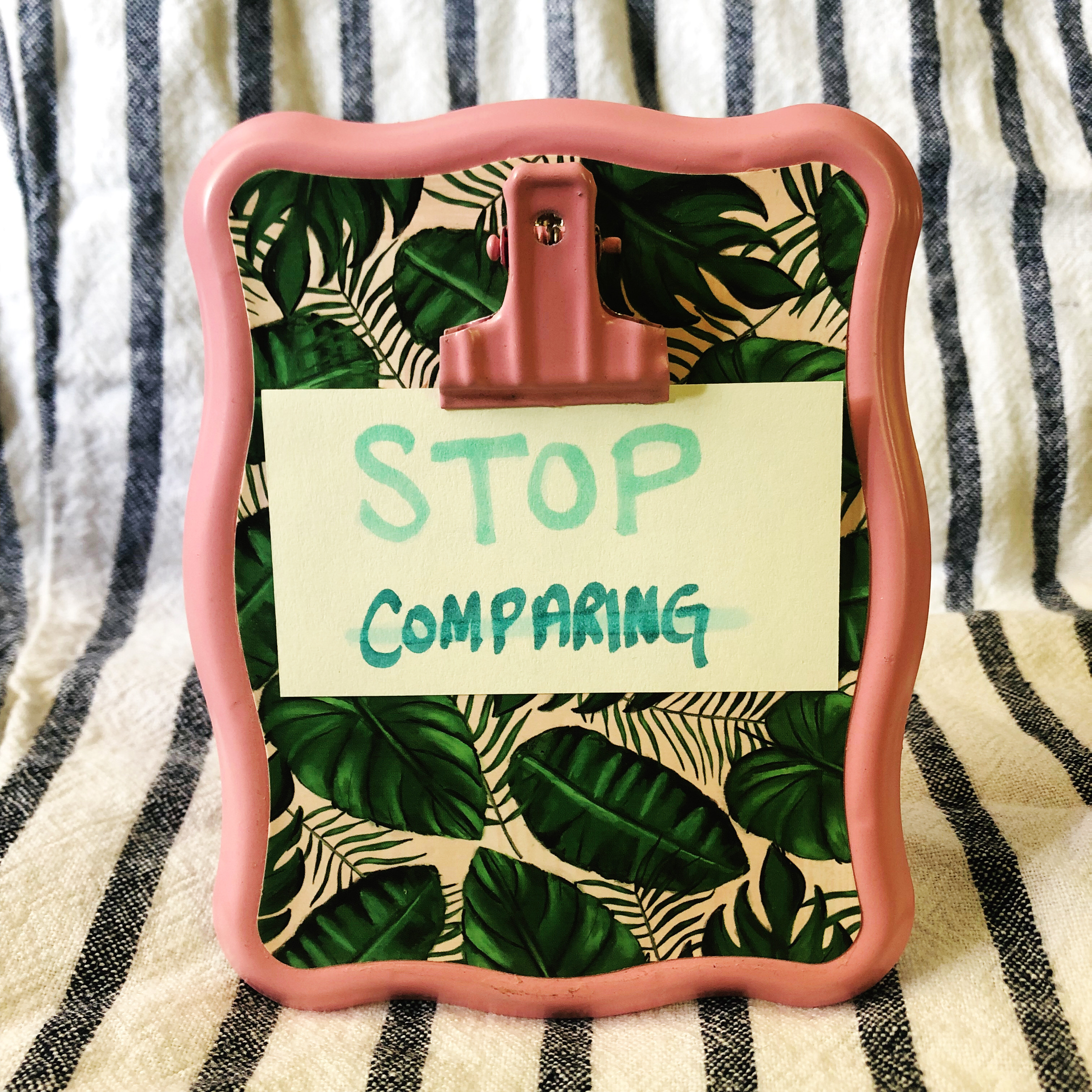 Reseller Tips 13 • Stop Comparing