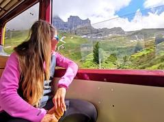 Jízda s Jungfraubahn