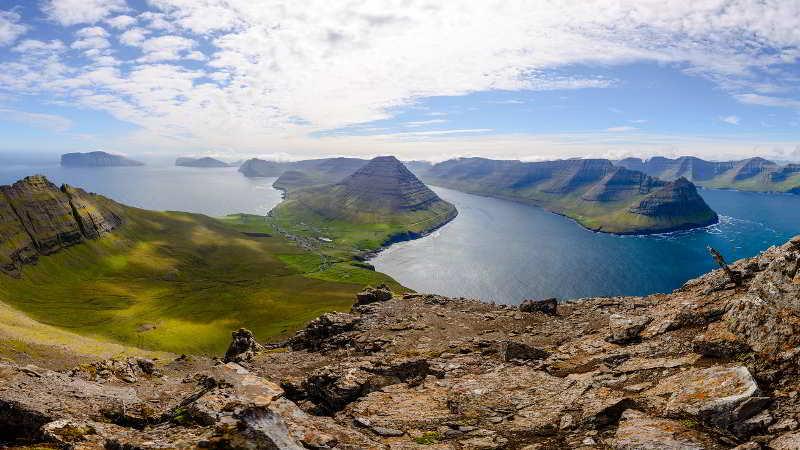 Scene in the Faroe Islands