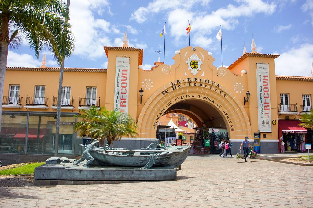 Mercado de Nuestra Señora de Africa en Santa Cruz de Tenerife