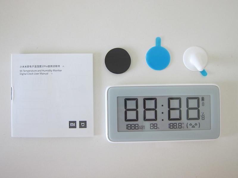 Xiaomi Mi Multifunctional Digital Clock - Box Contents