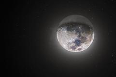 Quarto Crescente | First Quarter Moon