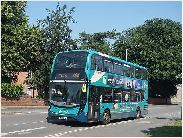 Arriva Midlands 4508