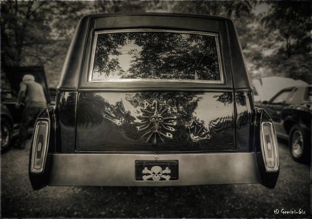 Coffin hauler...the undertaker cometh.