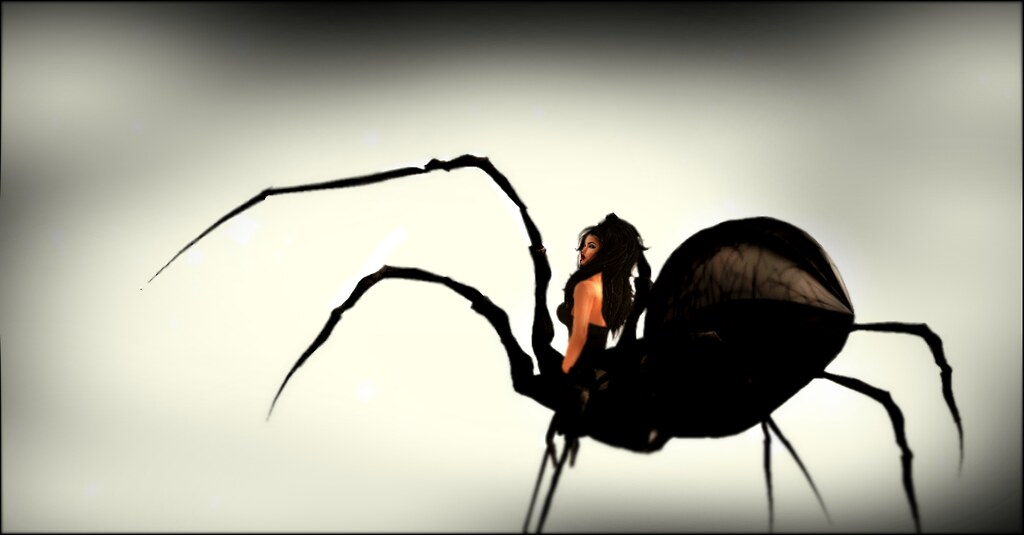 Black Glass Drider Female Avatar