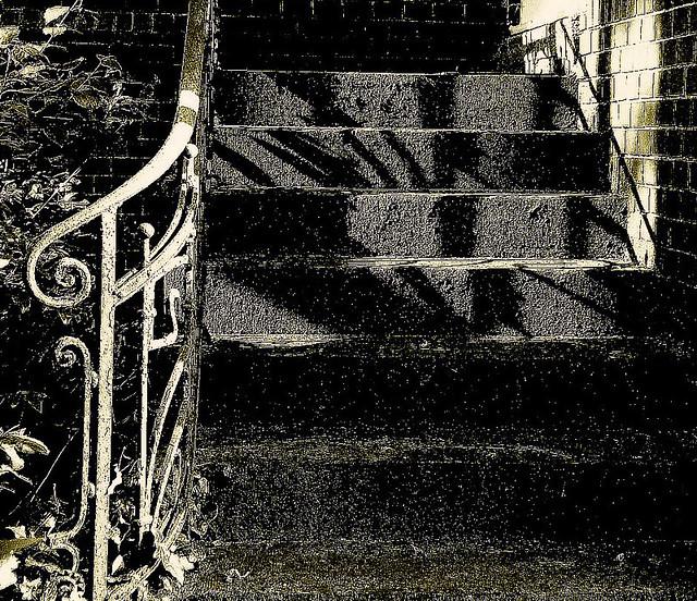 Schatten-Treppe