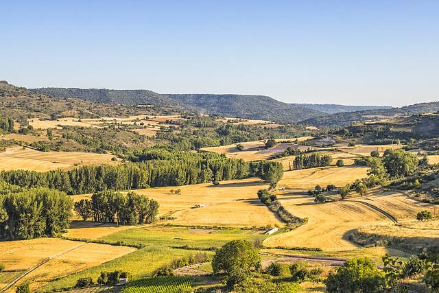 Vistas al sur de Brihuega
