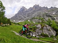 Turistická pěšina Grosse Scheidegg - Grindelwald