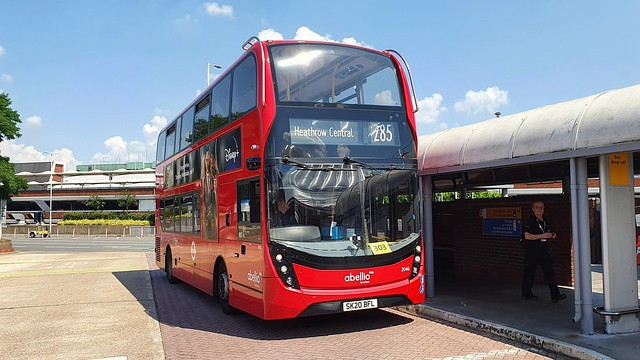 Abellio London 2046 SK20BFL Route 285