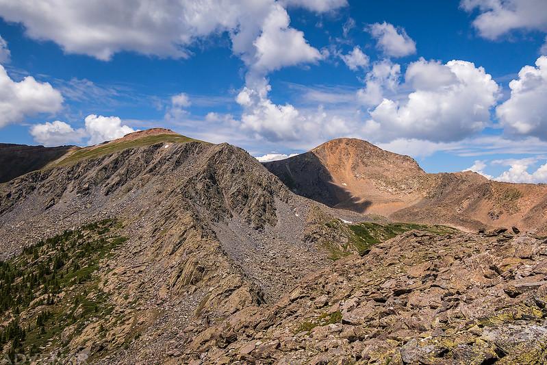 Gunsight Pass to Henry Mountain