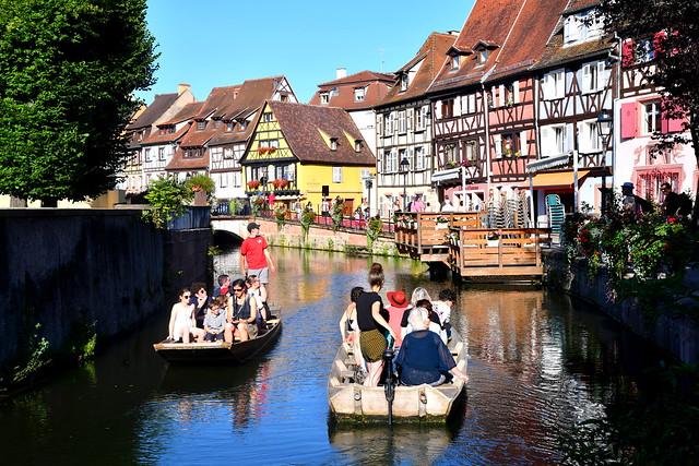 Promenade en barque (Colmar, F)