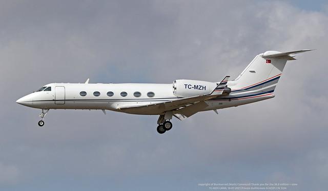 TC-MZH LMML 18-07-2021 Private Gulfstream G-IV(SP) CN 1224