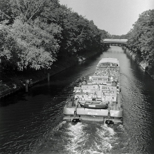 Binnenschiff Berlin Teltowkanal 18.7.2021