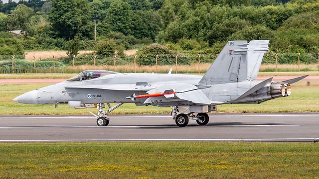 Finnish Air Force HavLLv 31 F-18C Hornet