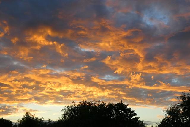 Evening Sky Over Ruislip