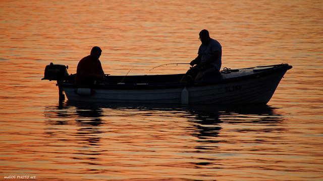 Fishing in good company